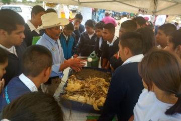 Agricultura de Conservación en 1a Feria Campesina Teontepec