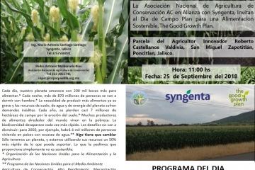 Compartiendo experiencias en Poncitlán, Jalisco Good Growth Plan y Sistemas Sustentables de Producción de Maíz